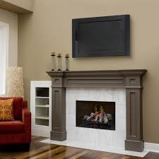 electric fireplace insert with brown wall and wooden floor plus chandelier for home ideas dimplex inserts optimyst woo lacey mount wonderful warm room media