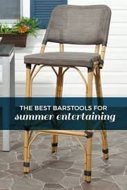 the best barstools and seating for outdoor living and entertaining deqor