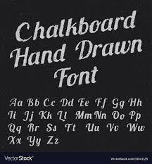 chalkboard fonts free chalkboard hand drawn font poster