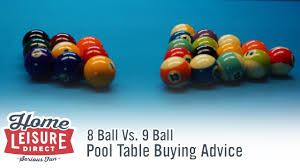 How Are 8 Ball And 9 Ball Pool Different