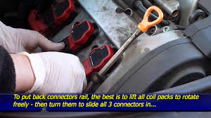 how to replace coil packs audi a4 b6 v6 3 0l 30v youtube  at 2006 Audi A4 1 8 T Cabriolet Coil Pack Wiring Harness