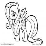 Kleurplaten My Little Pony Twilight Sparkle Mooi My Little Pony Free
