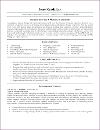 Interesting Occupational Therapy Resumes For Your Physical