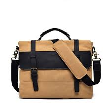europe designer messenger bags crazy horse leather waterproof canvas shoulder bags waxed cross bag vintage handbag