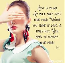 Love Is Blind Quotes Simple Love Is Blind Love Quotes Pinterest