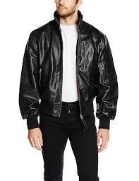 details about men s german black leather pilot jacket