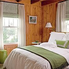 Preppy Bedroom Preppy Bedroom Wood Walls Green Accents Beach Style Poolside