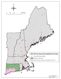 Epa Region 8 Org Chart 8 Hour Ozone Non Attainment Areas In New England Ground
