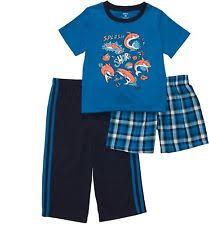 carter s sea life clothing newborn t for boys carter s boys 18 months 3 piece blue shark polyester jersey pajama set nwt