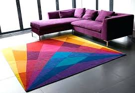 colorful geometric rug bright colored rugs