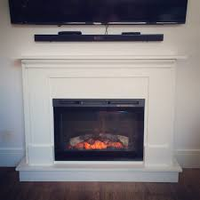 electric fireplace surround and mantel