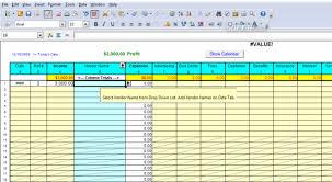 Profit Spreadsheets Download Profit Loss Report Spreadsheet 6 0