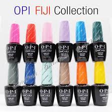 Opi Soak Off Gelcolor Fiji Collection Kit Gel Polish Color Spring Summer 2017 0 5oz 15ml