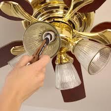 install or replace a ceiling fan brass ceiling fan light fixture ideas