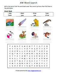 Here, you will find free phonics worksheets to assist in learning phonics rules for reading. Vowel Digraph Aw Phonics Word Search