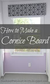 Diy Wood Cornice Tutorial How To Make A Cornice Board Smashed Peas Carrots