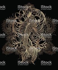 карп кои татуировки 1 4 стоковая векторная графика и другие