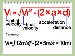 initial velocity equation jennarocca