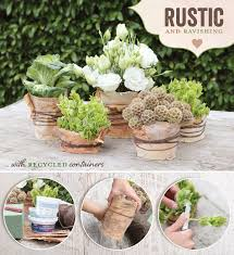 rustic wedding centerpiece tutorial