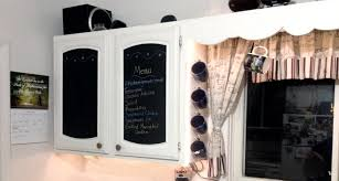 Making Kitchen Cabinet Doors Diy Kitchen Cabinet Makeover Chalkboard Paint Love My Diy Home