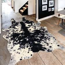faux animal rug faux animal hide rugs