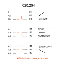 toggle switch off on on lucas lever 6 terminals for view print wiring diagram