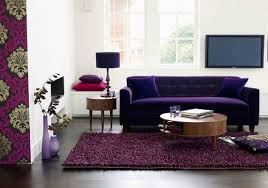 Purple And Green Living Room Decor Dark Purple Living Room Living Room Design Ideas
