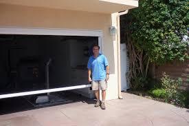 garage door exhaust fan screen