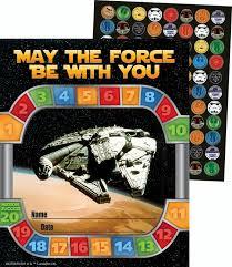 Star Wars Behavior Chart Star Wars Mini Reward Chart With Stickers