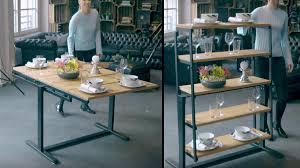 Vieco Swing By Eve Une Ingénieuse Table Qui Se Transforme En