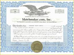 018 Corporate Stock Certificates Template Free Ideas