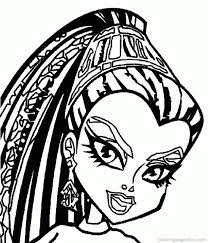 Small Picture Monster High Coloring Book Coloring Coloring Pages