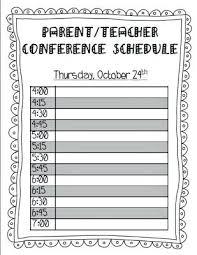 parent teacher conference letters teacher interview parent template conference plan sample thank you