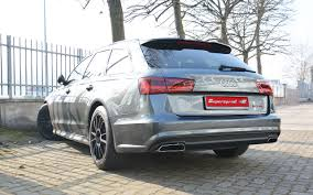 New Supersprint exhaust system for AUDI A6 4G 2015 3.0 TDI, 2016 ...