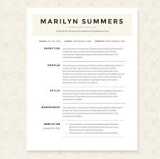Classic Resume Templates Gorgeous Classic Resume Template Package Resume Templates Creative Market