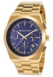 michael kors men s mk8338 channing gold navy watch knry fashion michael kors men s mk8338 channing gold navy watch