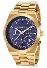 michael kors men s mk8338 channing gold navy watch knry fashion michael kors men s