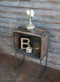 industrial diy furniture. Modren Furniture Roundup 10 Industrial Chic DIY Furniture Projects Throughout Diy Curbly