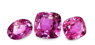 Natural Sapphire Color Chart Pink Sapphires A Guide On Judging Color In Pink Sapphires
