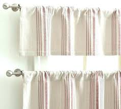 cafe curtain rods inside mount home depot red striped kitchen curtains trendy cafe curtain rods