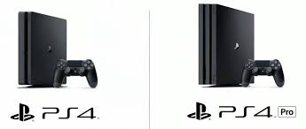 sony ps4 console. playstation 4 vs pro sony ps4 console