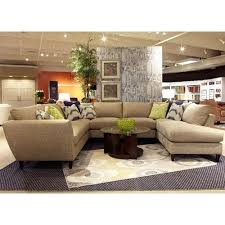 la z boy tribeca contemporary five piece sectional sofa with raf godby home furniture