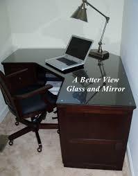 custom glass table tops in hampton roads va confeence glass tops desk tops dresser