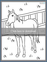 Coloring pages holidays nature worksheets color online kids games. Horse Coloring Pages To Print Lovetoknow