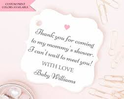 Printable Baby Shower Gift Tags U2014 Printable TreatscomBaby Shower Tag