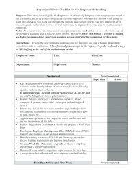 Employee File Checklist Personnel File Checklist Template Italfx Com
