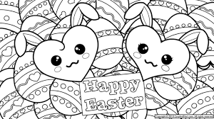 Cooloring Book Extraordinary Free Easter Coloring Pages Basket