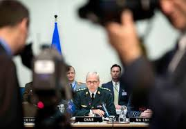 u s department of defense photo essay knud bartels chairman of nato s military committee makes