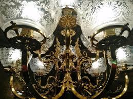 general crook house museum dining room chandelier