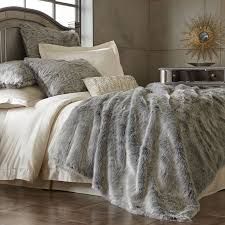 fancy faux fur bedding king size 85 for your ivory duvet covers with faux fur bedding